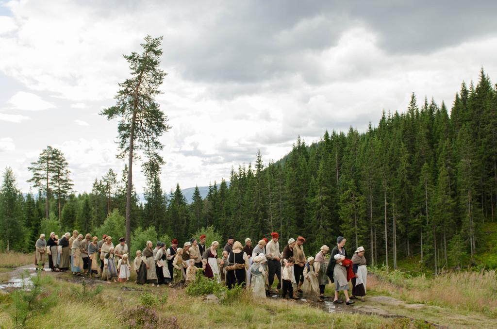 """""""Menn av malm, jenter av jern"""" ble spilt første gang i Feiring jernverk i 2000"""